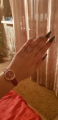 Часы цвета Бордо