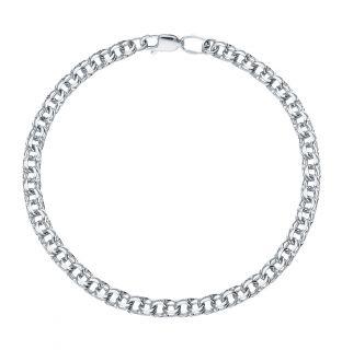Серебряный браслет SOKOLOV 965140704: белое серебро 925 пробы — купить в интернет-магазине SUNLIGHT, фото, артикул 105648