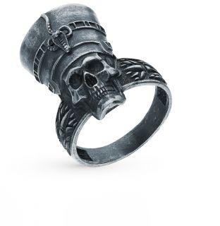 Серебряное кольцо KU&KU 142973а-7: чёрное серебро 925 пробы — купить в интернет-магазине SUNLIGHT, фото, артикул 100240