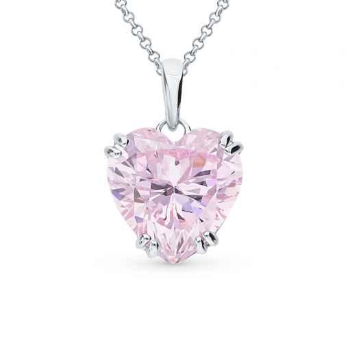 bf2c33406b6f Подвеска, вставка  фианит  фианит розовый  элементы из серебра  −52%  SUNLIGHT