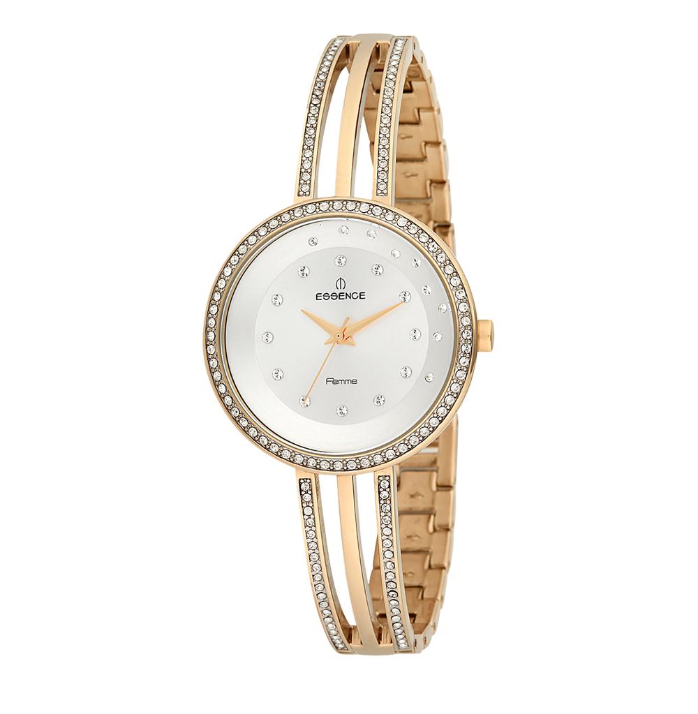 Женские часы D960.130 на стальном браслете с PVD покрытием с минеральным стеклом