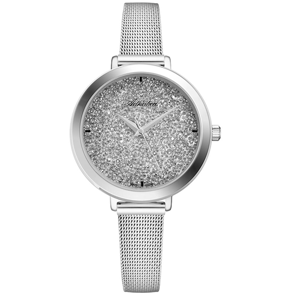 Фото «Женские часы A3787.5113Q на стальном браслете с минеральным стеклом»