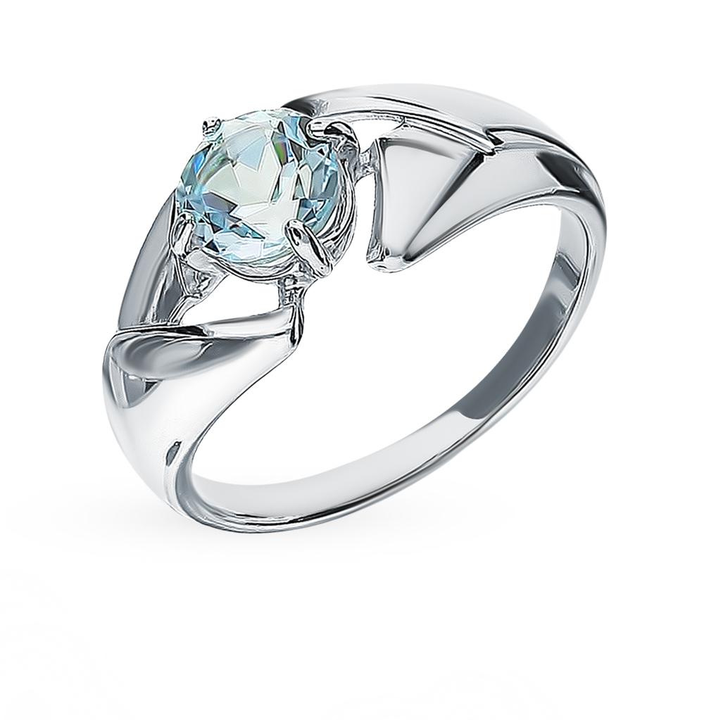 Серебряное кольцо с топазом SOKOLOV 92011602