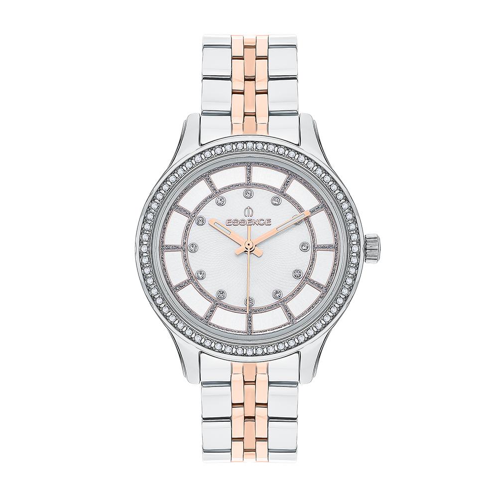 Женские  кварцевые часы ES6542FE.520 на стальном браслете с минеральным стеклом в Екатеринбурге