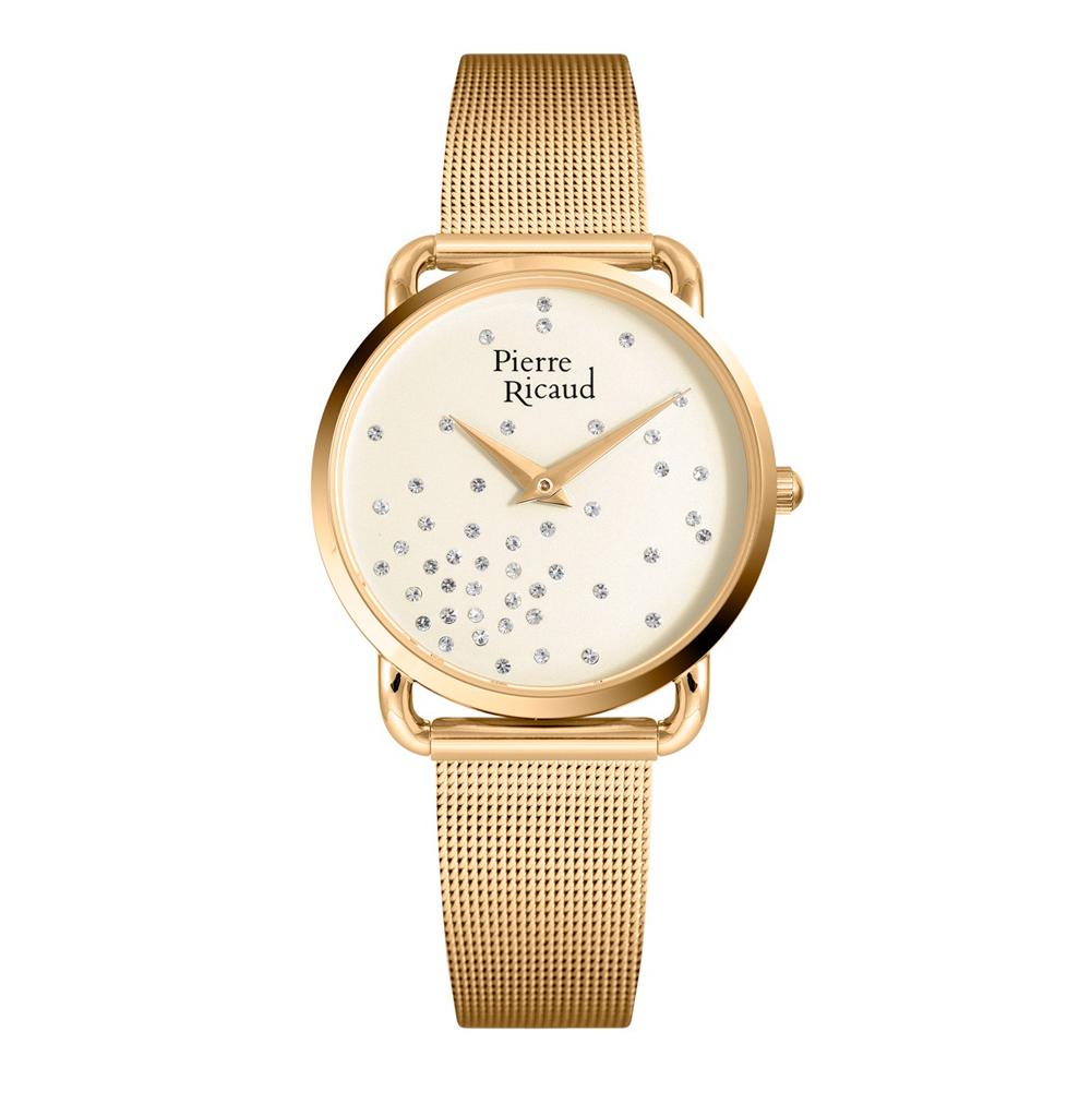 Фото «Женские часы P21066.1141Q на стальном браслете сIPпокрытием с минеральным стеклом»
