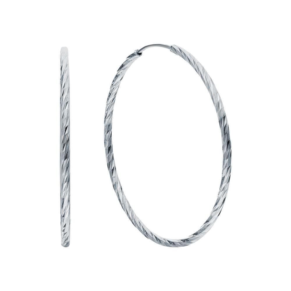 Фото «Серебряные серьги с серебром»