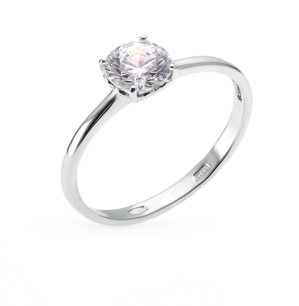 Серебряное кольцо с кристаллами SOKOLOV 89010011 в Екатеринбурге
