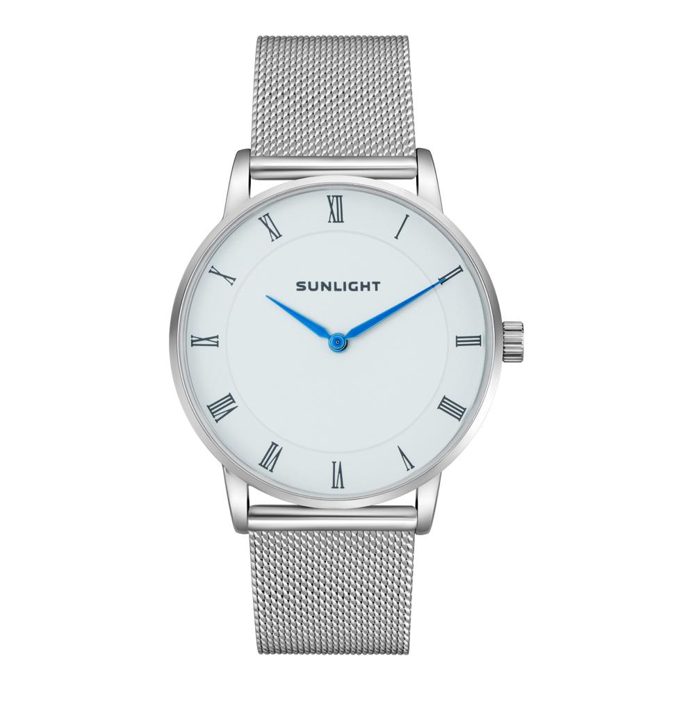 Фото «Тонкие универсальные  часы на миланском браслете»
