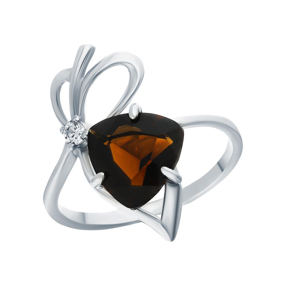 Серебряное кольцо с кубическим цирконием в Екатеринбурге