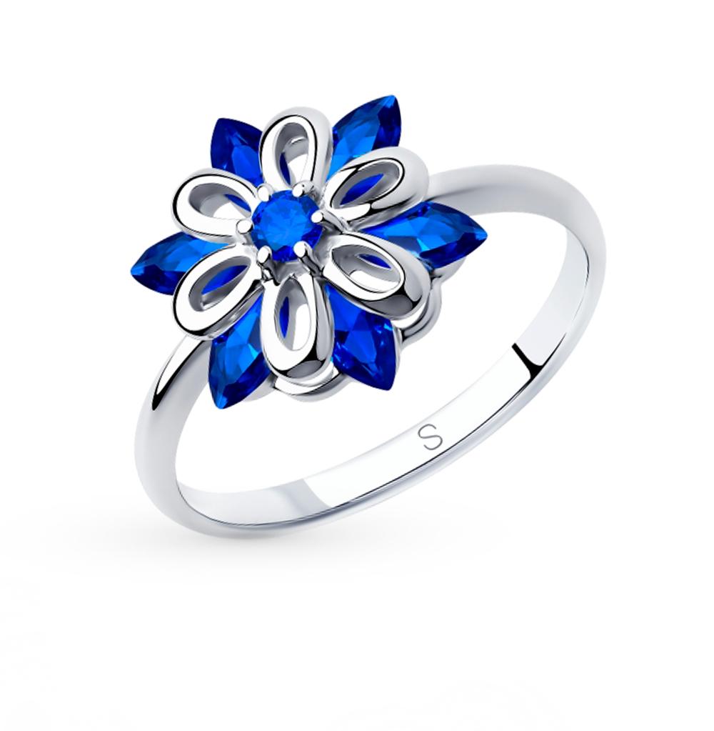 Серебряное кольцо с фианитами SOKOLOV 94012982 в Екатеринбурге