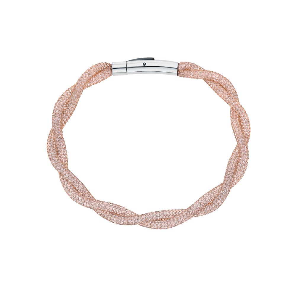 Фото «Стальной браслет с ювелирными кристаллами»