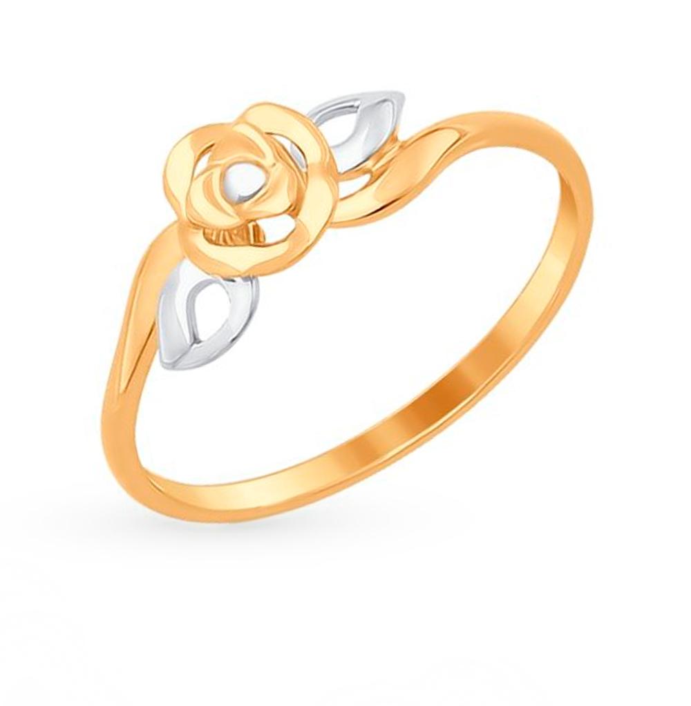золотое кольцо SOKOLOV 017269