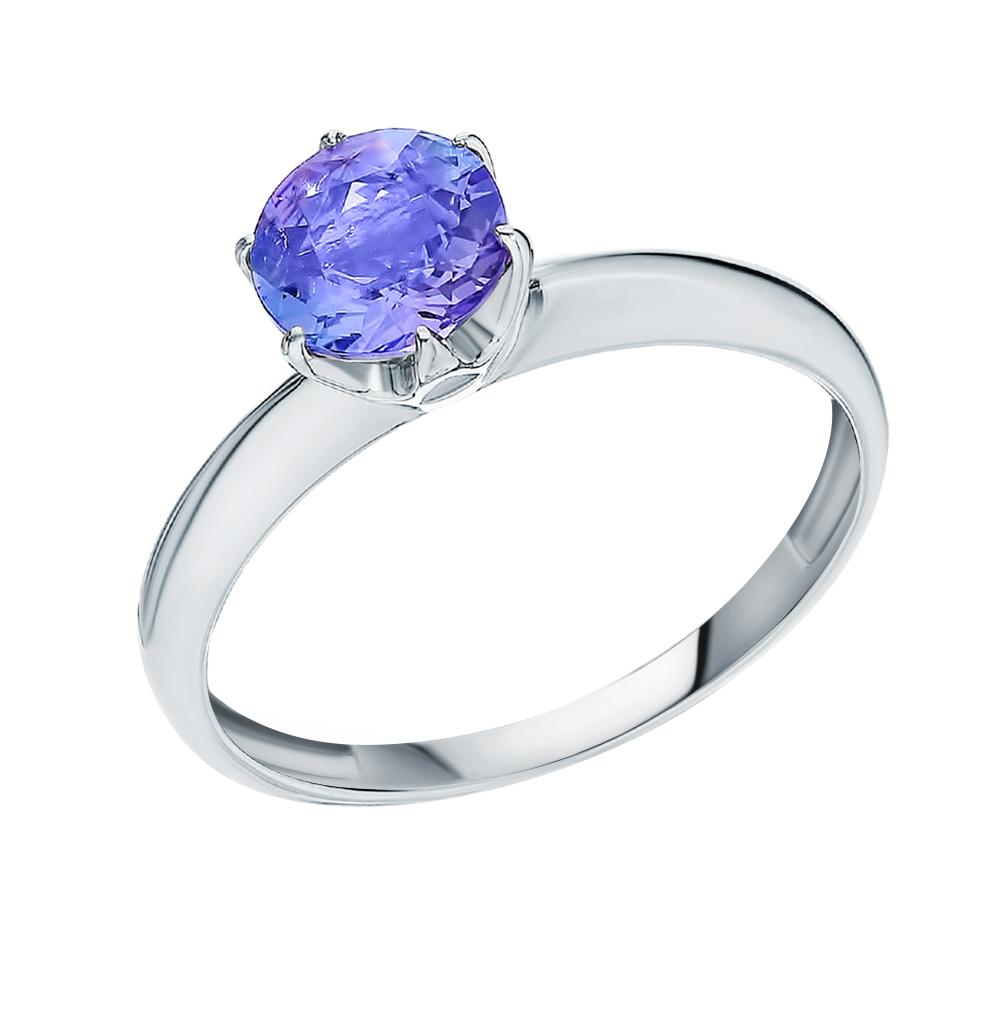 Фото «Золотое кольцо с танзанитом»