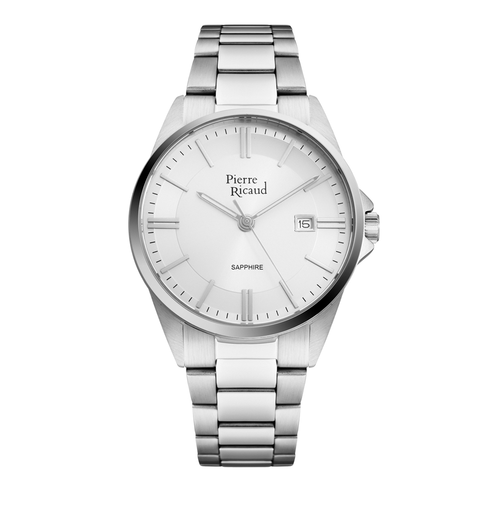 Мужские часы P60022.5113Q на стальном браслете с сапфировым стеклом в Екатеринбурге