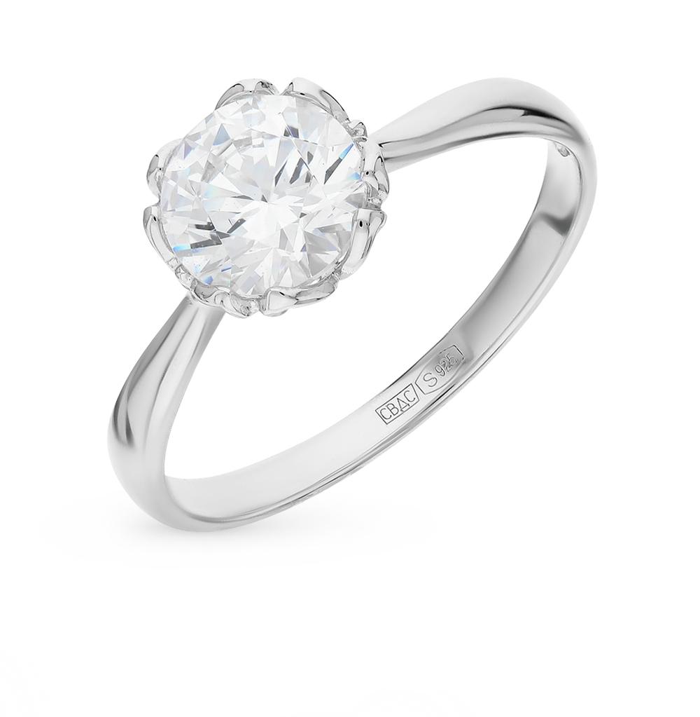 Серебряное кольцо с фианитами SOKOLOV 89010034 в Екатеринбурге