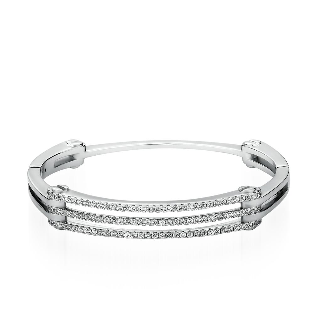 Фото «серебряный браслет с фианитами»