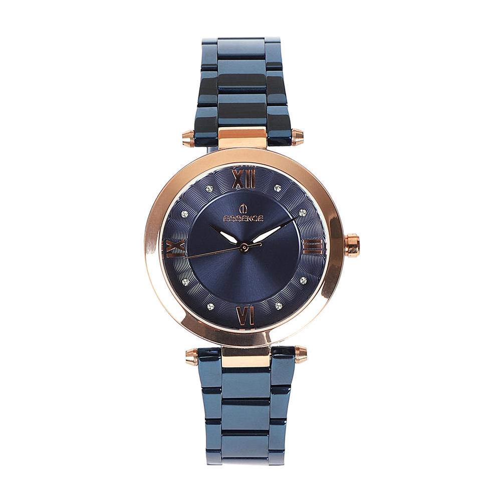 Фото «Женские  кварцевые часы ES6519FE.490 на стальном браслете с минеральным стеклом»