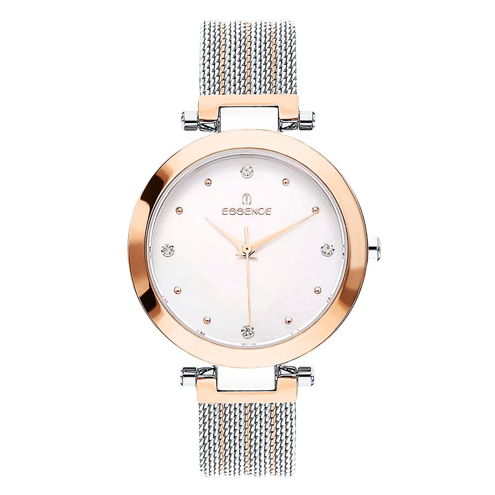 Женские  кварцевые часы ES6545FE.520 на стальном браслете с минеральным стеклом в Екатеринбурге