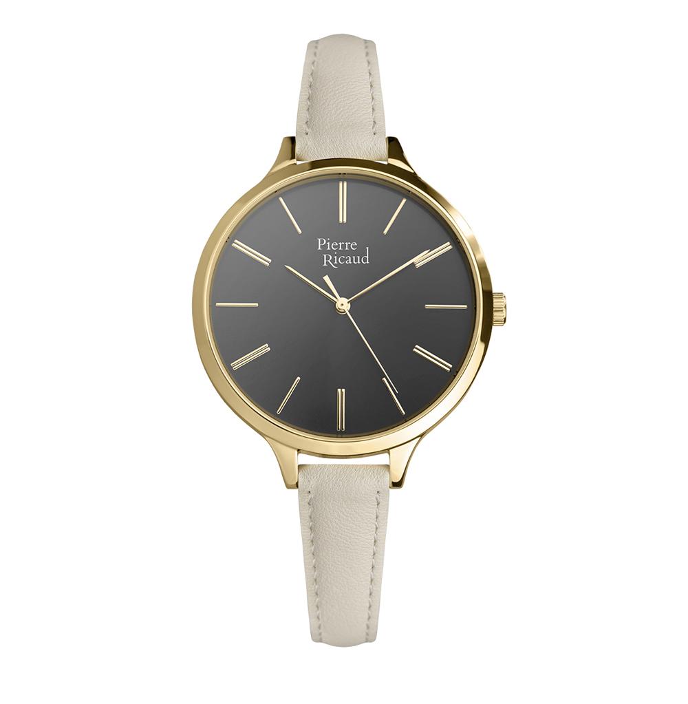Женские часы P22002.1V17Q на кожаном ремешке с минеральным стеклом