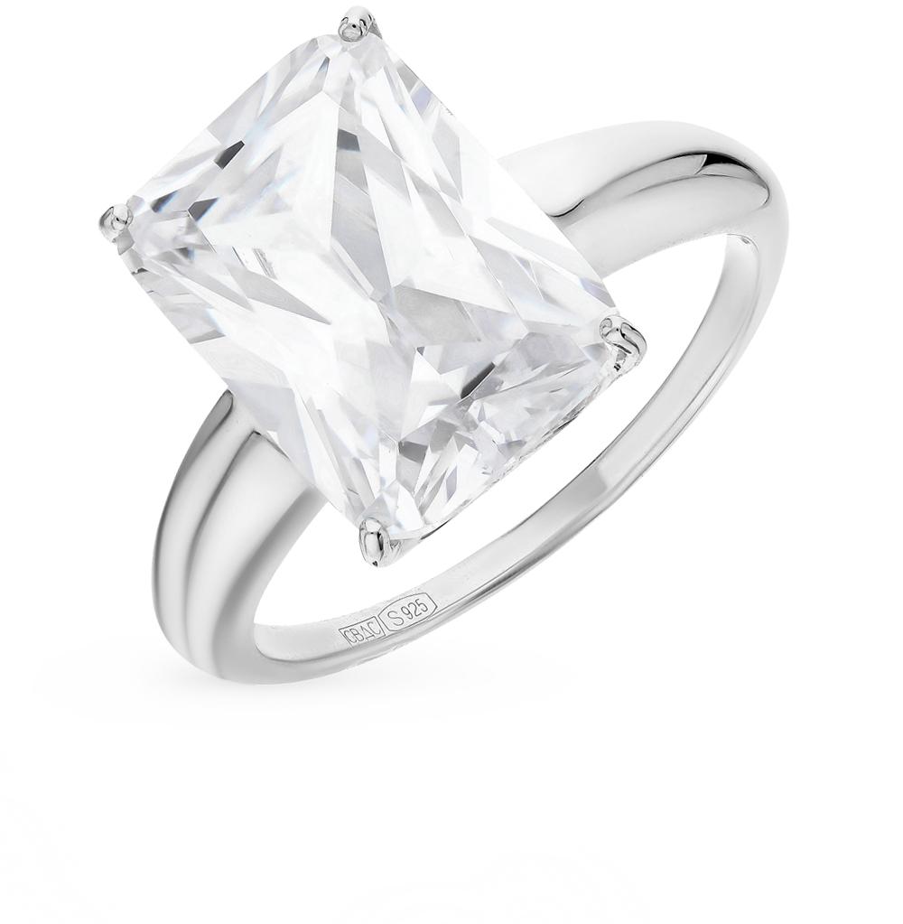 Серебряное кольцо с фианитом SOKOLOV 94012078