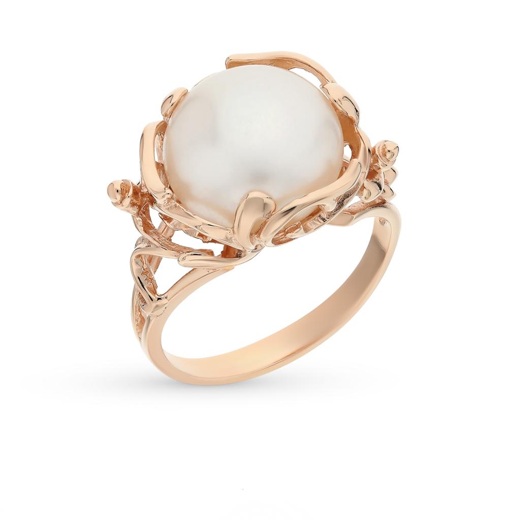 Золотое кольцо с жемчугом в Екатеринбурге