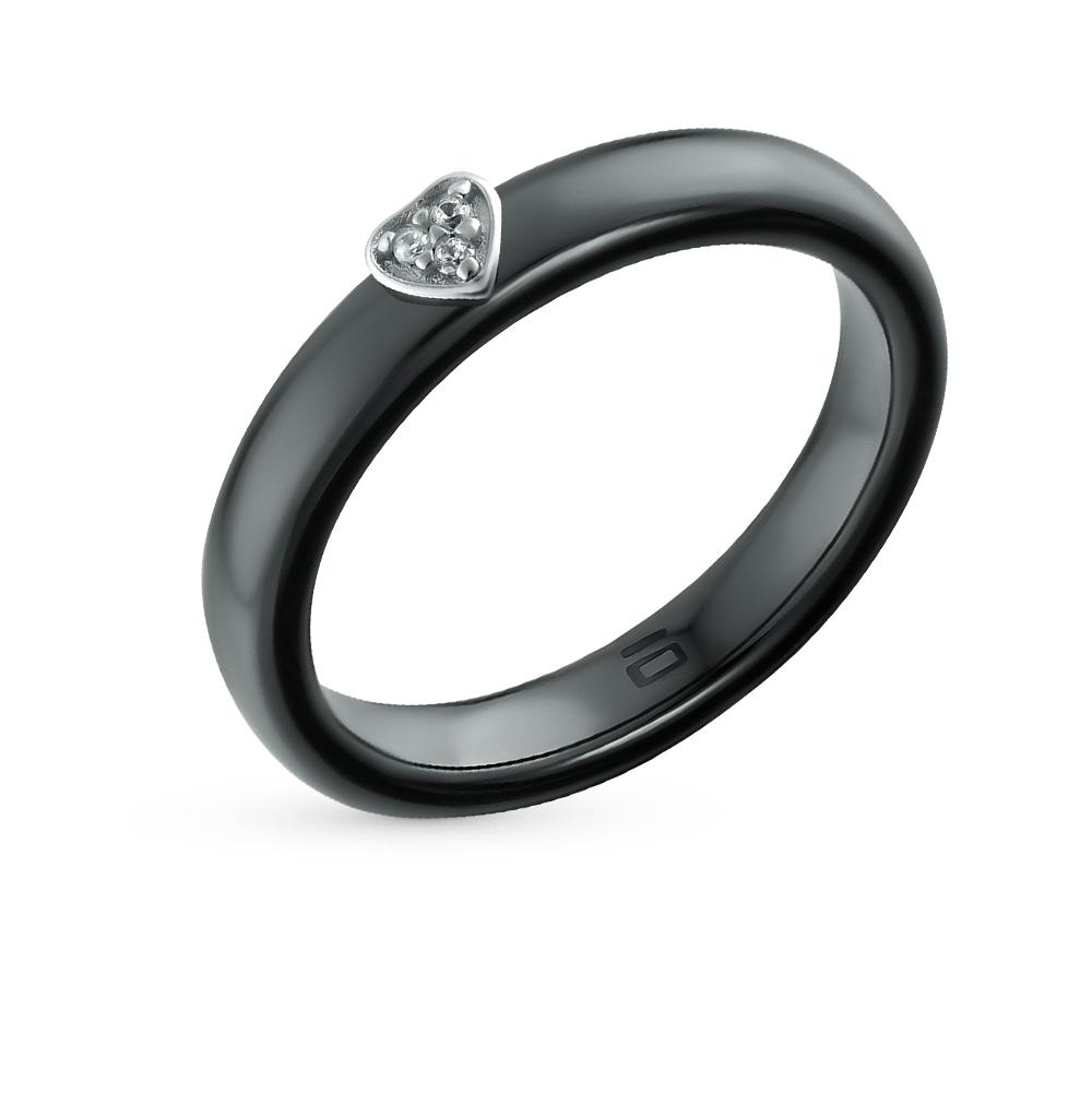 Фото «кольцо из серебра с серебром и фианитами»