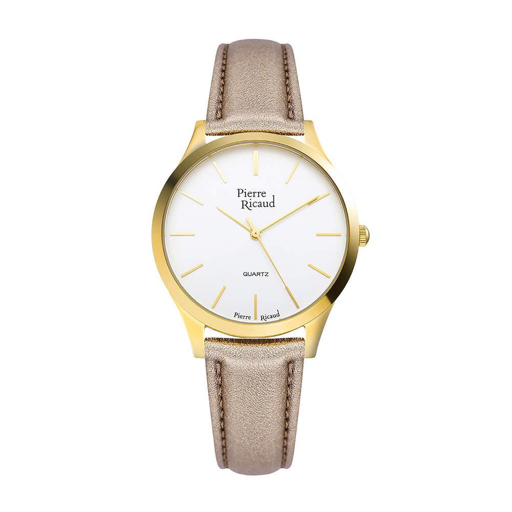 Фото «Женские кварцевые часы P22000.1K13Q на кожаном ремешке с минеральным стеклом»