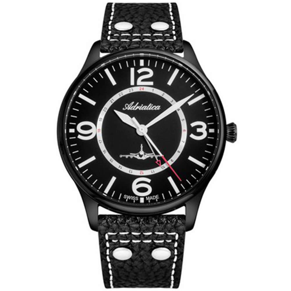 Фото «Мужские часы A8266.B254Q на кожаном ремешке с минеральным стеклом»