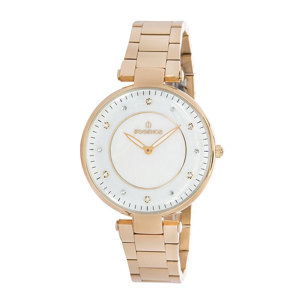 Женские часы ES6375FE.420 на стальном браслете с розовым IP покрытием с минеральным стеклом в Санкт-Петербурге