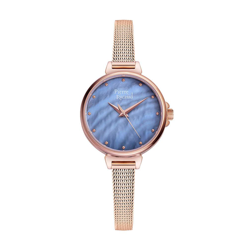 Фото «Женские кварцевые часы P22099.914BQ на стальном браслете с минеральным стеклом»