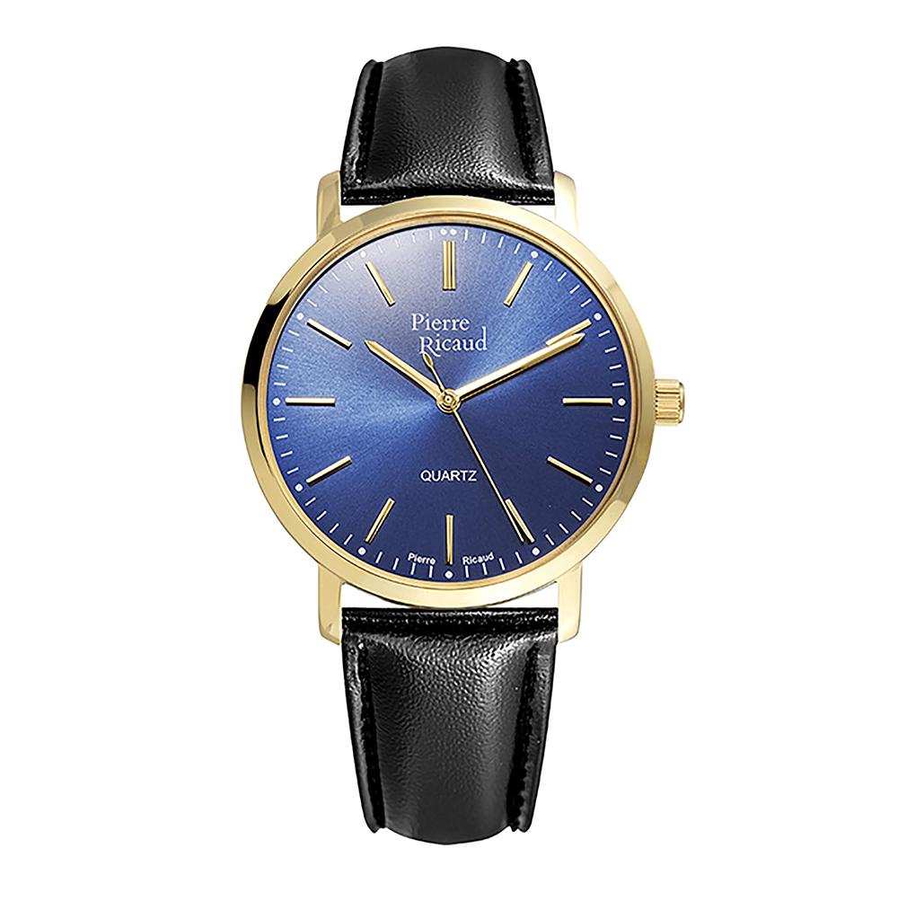 Мужские кварцевые часы P97215.1215Q на кожаном ремешке с минеральным стеклом в Екатеринбурге