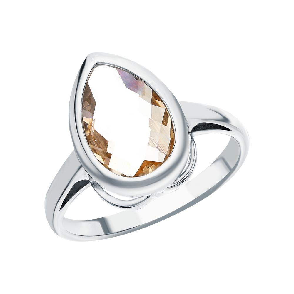 Фото «Серебряное кольцо с морганитами»