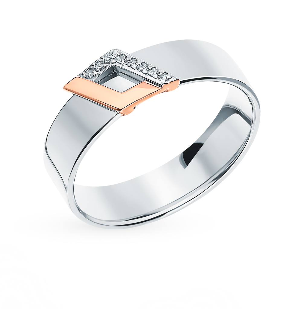 Фото «Серебряное кольцо с бриллиантами»