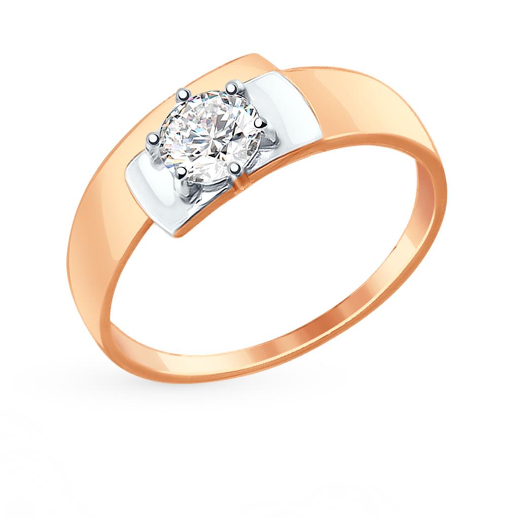 Золотое кольцо с фианитами SOKOLOV 017412* в Екатеринбурге