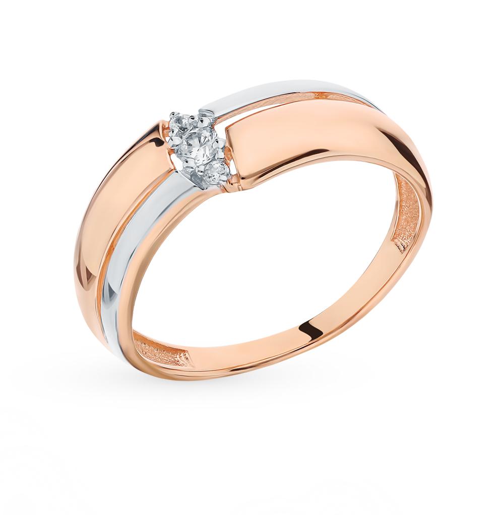 Золотое кольцо с фианитом в Санкт-Петербурге