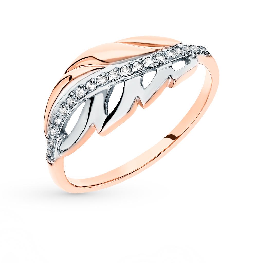 Золотое кольцо с фианитами SOKOLOV 51-110-00069-1* в Екатеринбурге