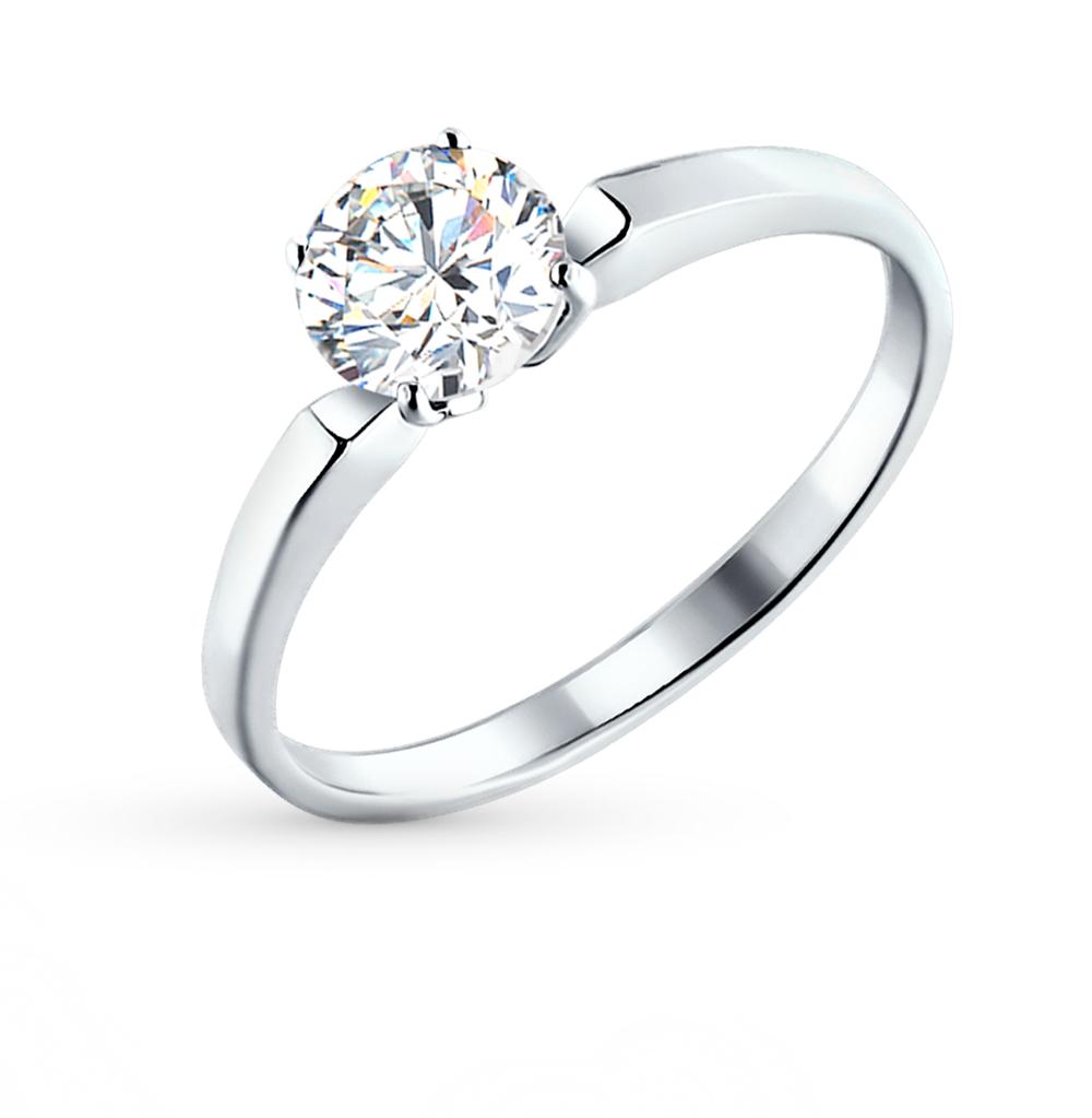 2fdaab8673e9 Серебряное кольцо с фианитами SOKOLOV 94010279  белое серебро 925 ...