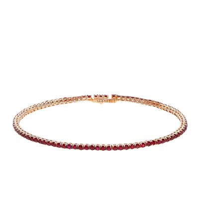 Золотой браслет с рубинами в Санкт-Петербурге
