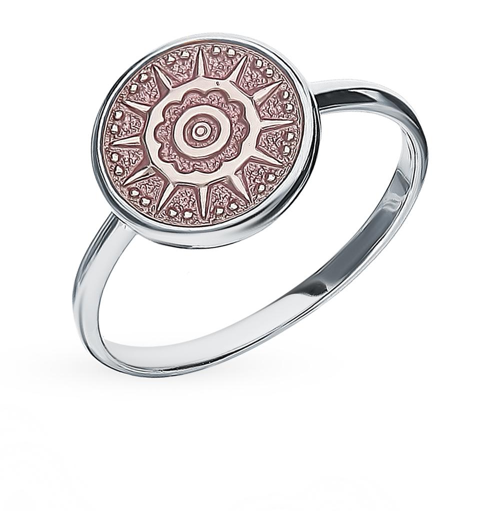 серебряное кольцо с эмалью SOKOLOV 94012847