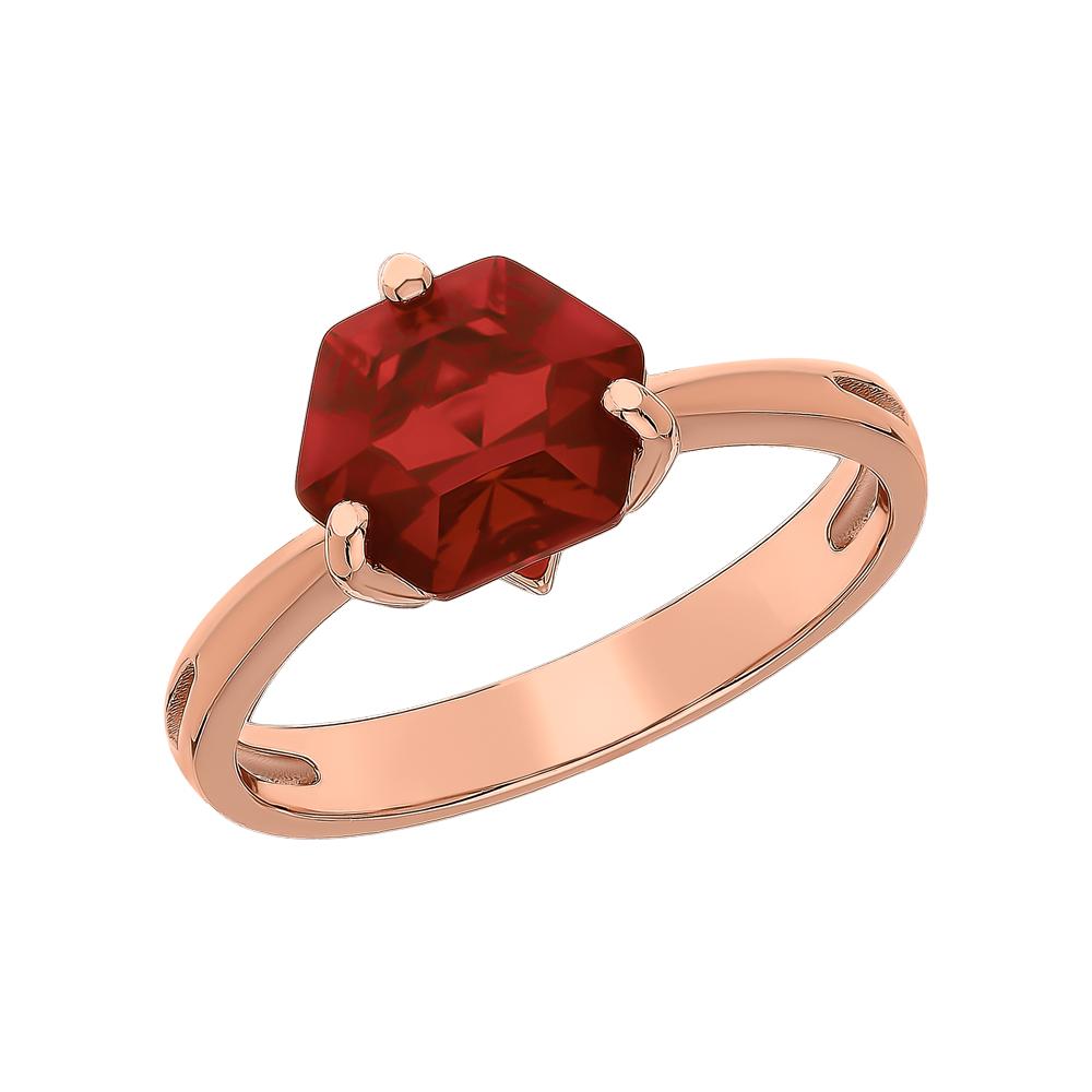Серебряное кольцо с ситаллами в Санкт-Петербурге