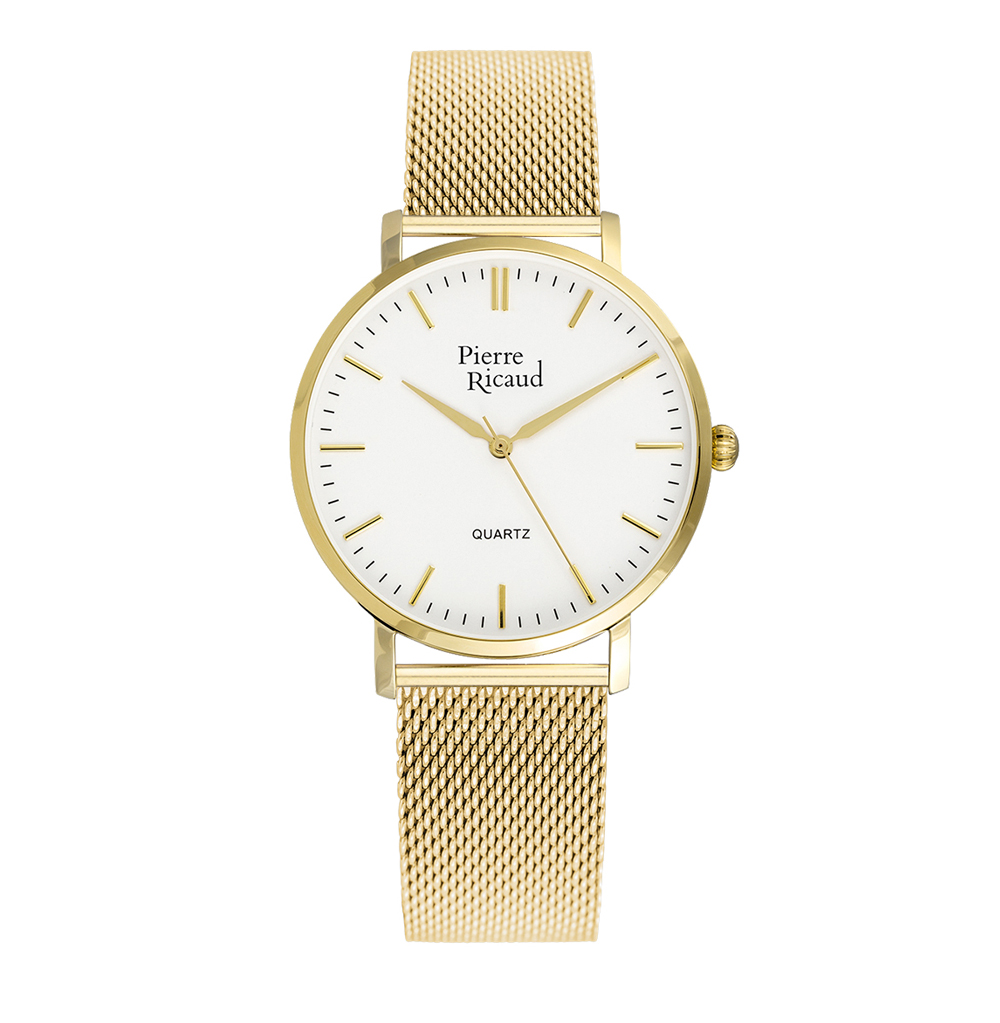 Женские часы P51082.1113Q на стальном браслете с PVD покрытием с минеральным стеклом