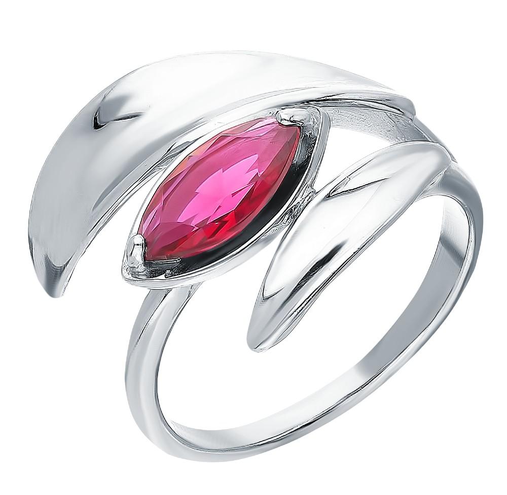 Фото «Серебряное кольцо с рубеллитами»