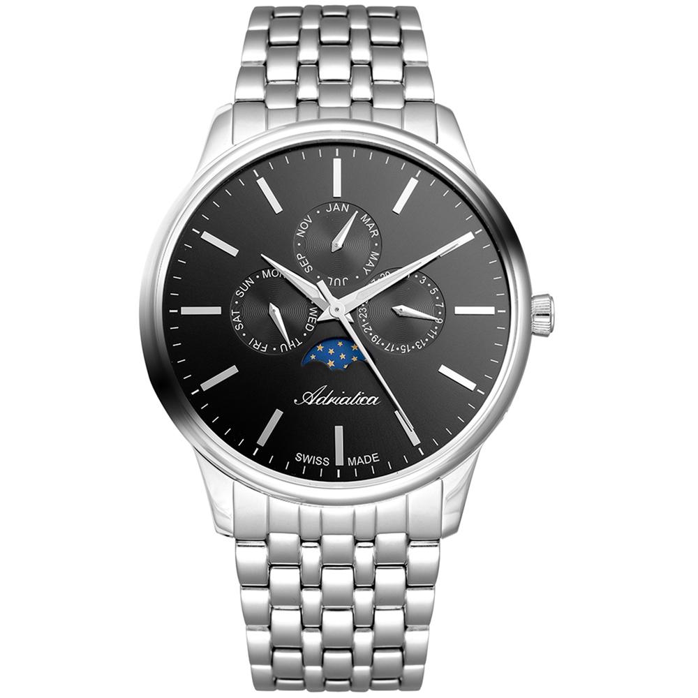 Мужские часы A8262.5114QF на стальном браслете с минеральным стеклом