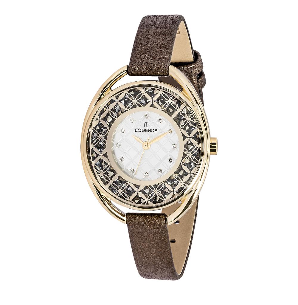 Женские часы D941.132 на кожаном ремешке с минеральным стеклом в Санкт-Петербурге