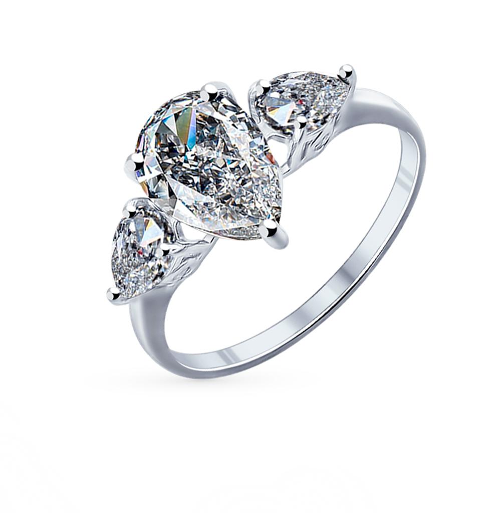 Серебряное кольцо с фианитами SOKOLOV 94011767 в Екатеринбурге