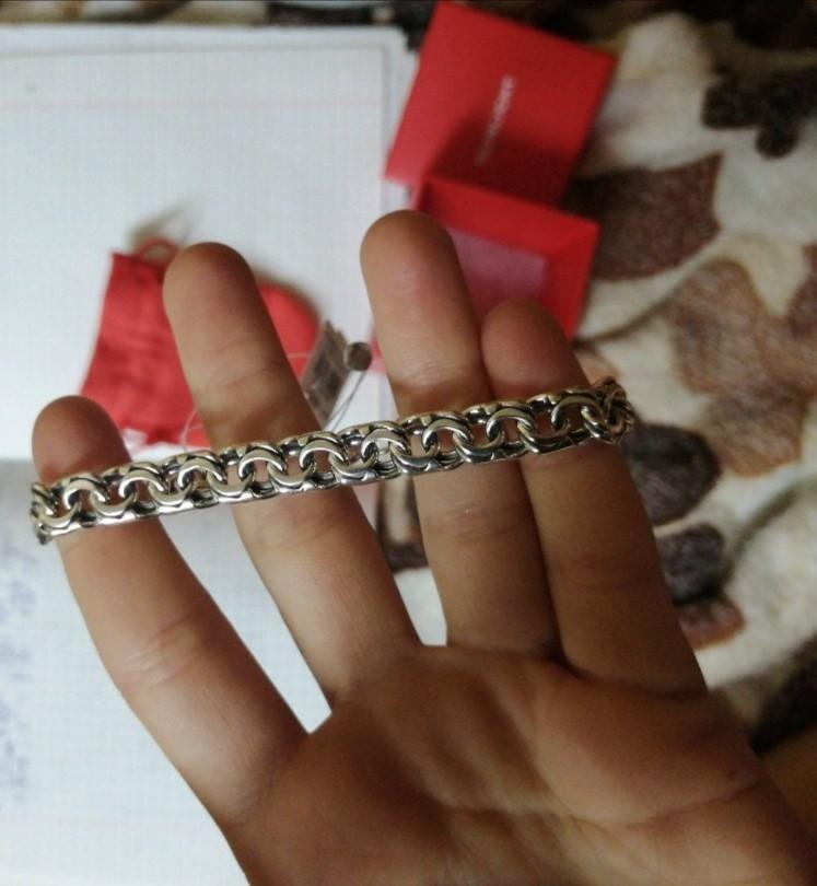 Идеальный серебряный браслет.