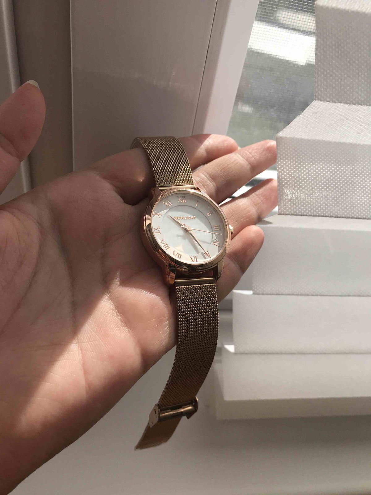 Потрясающие  часы с миланским браслетом🤩