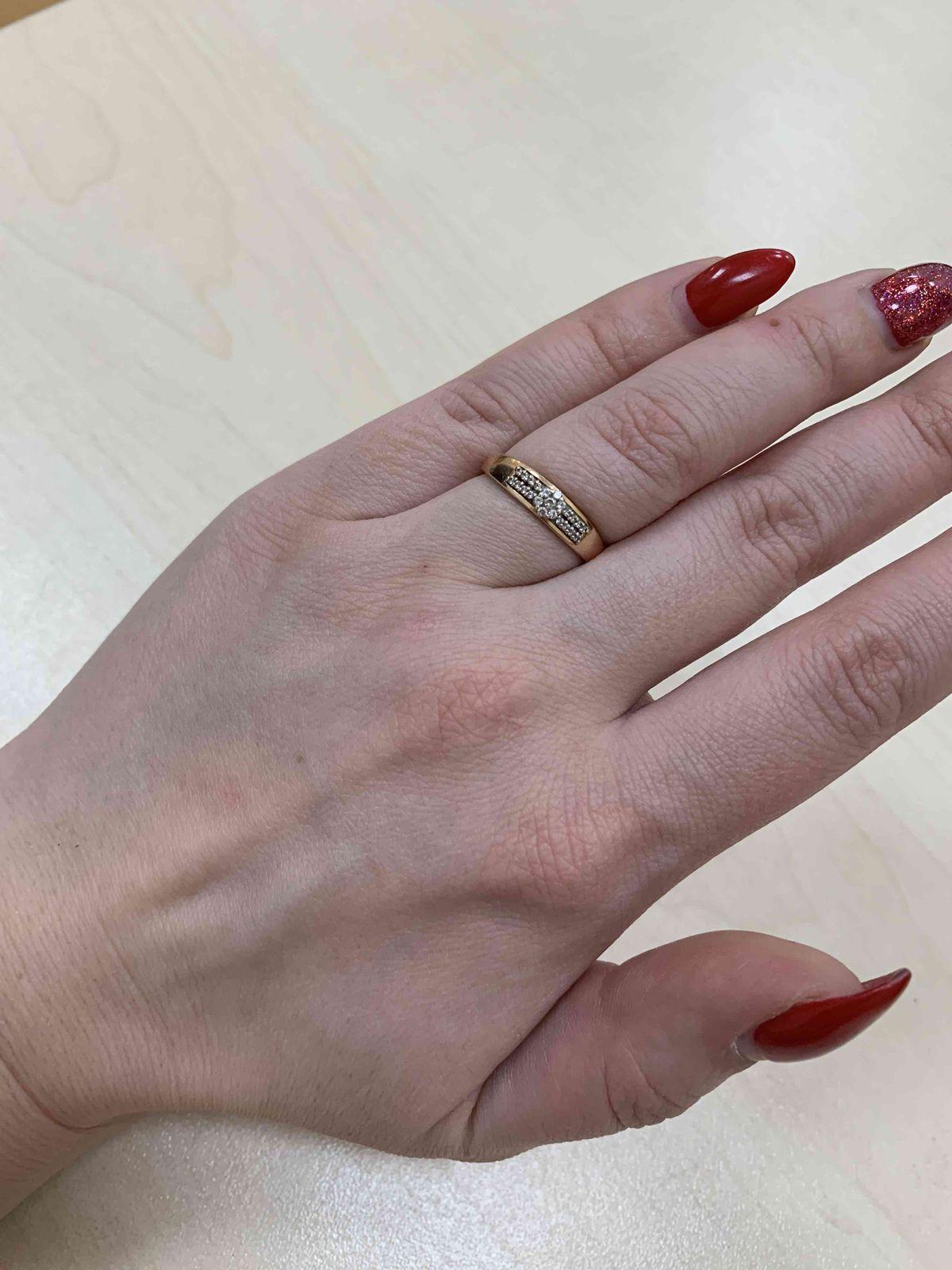 Недорогое кольцо