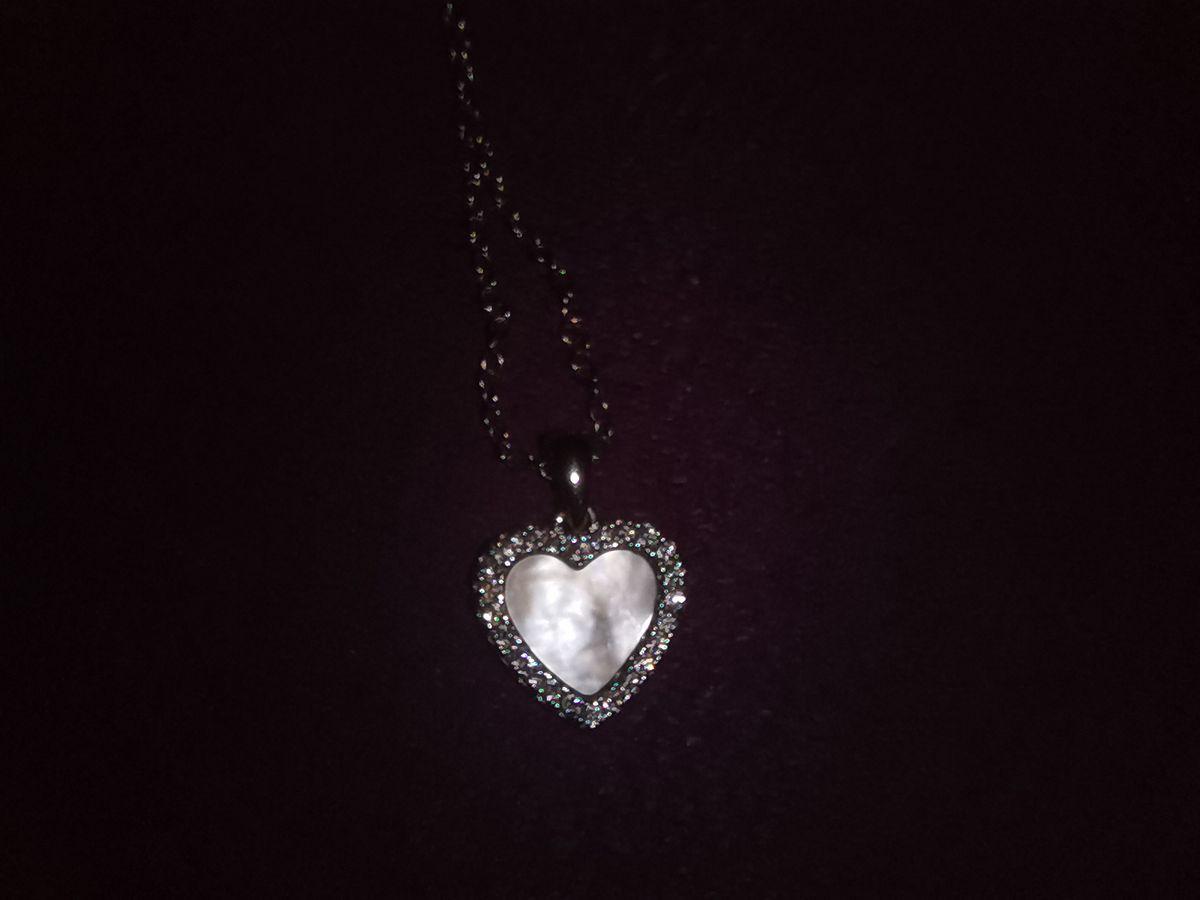 Перламутровое сердце.