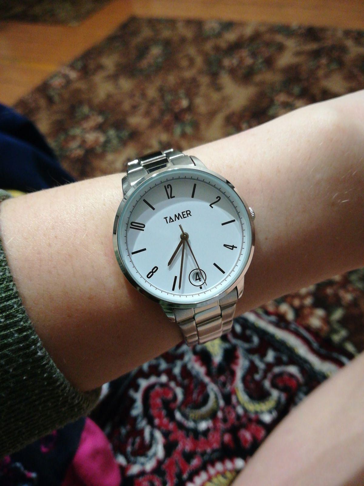 Часы из Санлайт